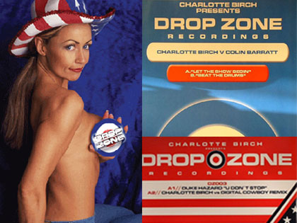 Charlotte Birch and some of her releases on Dropzone