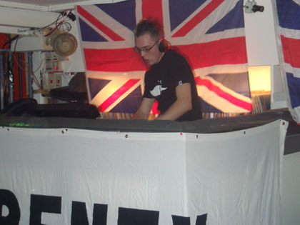 Ryki makes his Frenzy debut in 2006 at the Empire Club