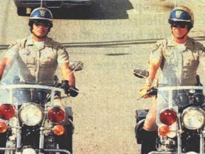 Ponch and the other guy from CHIPs