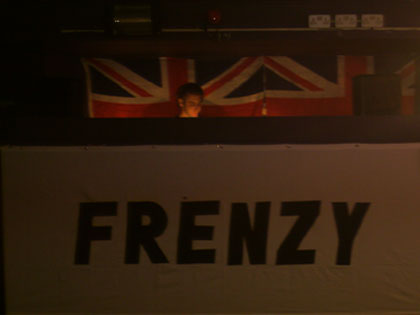 The Frenzy stage is set by Cheeky Scott