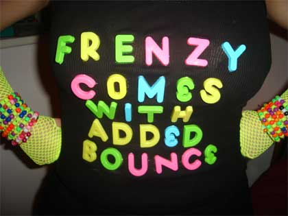 Frenzy comes with added bounce!
