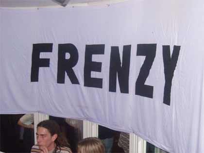 Flying the flag for Frenzy in 2007!