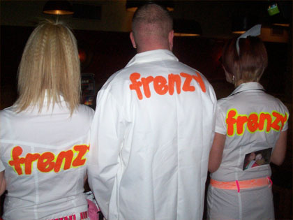 The Frenzy army are poised for world domination