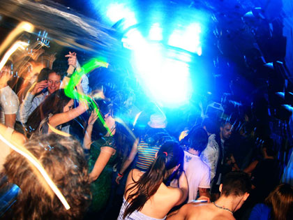 The Frenzy dancefloor explodes into colour