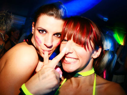 Cheeky cyber girls at Frenzy in Bournemouth